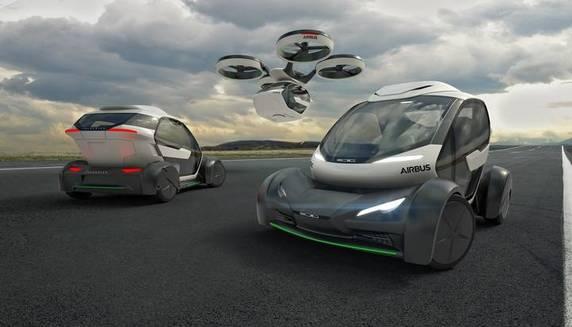 Auto volante Airbus Italdesign: i moduli in azione