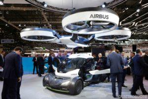 Pop.up l'auto volante airbus italdesign