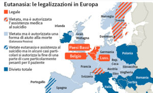 eutanasia in europa e nel mondo