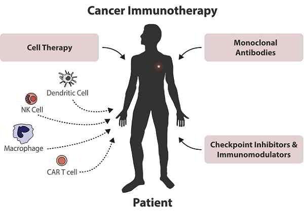 effetti collaterali dell'immunoterapia oncologica