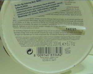 Perlier: Burro rigenerante corpo a rischio allergico