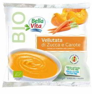 Cadoro: vellutata di zucca e carota Bellavita richiamata per listeria