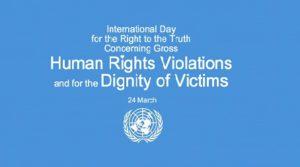 Giornata internazionale per il diritto alla verità