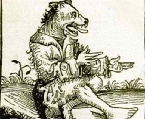 lupo mannaro nella storia del 500