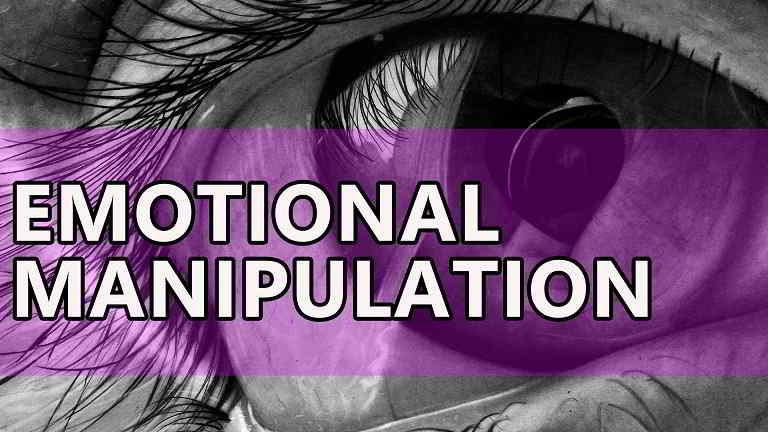 come riconoscere la manipolazione affettiva