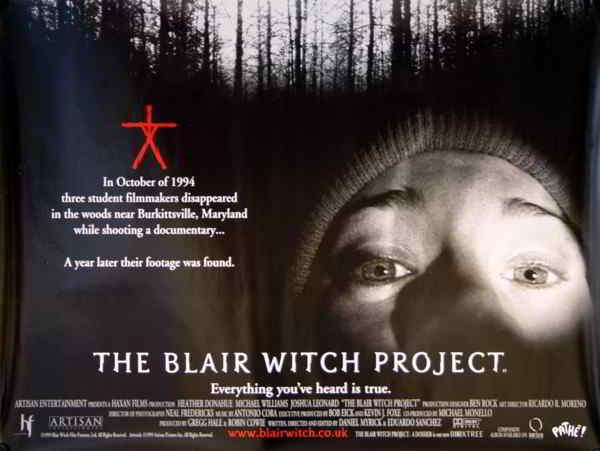 strega di blair the blair witch project