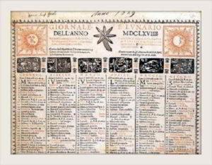 Storia dell'almanacco
