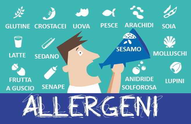 Allergeni non dichiarati in etichetta: otto richiami in pochi giorni