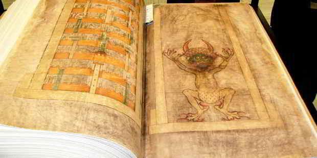 codex gigas o bibbia del diavolo
