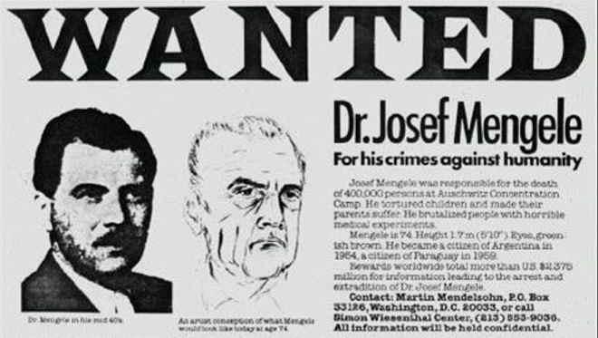 Josef Mengele: il serial killer medico nazista detto l'angelo della morte
