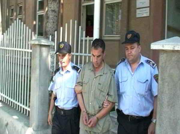 Vlado Taneski, il serial killer giornalista; scriveva articoli sui suoi crimini