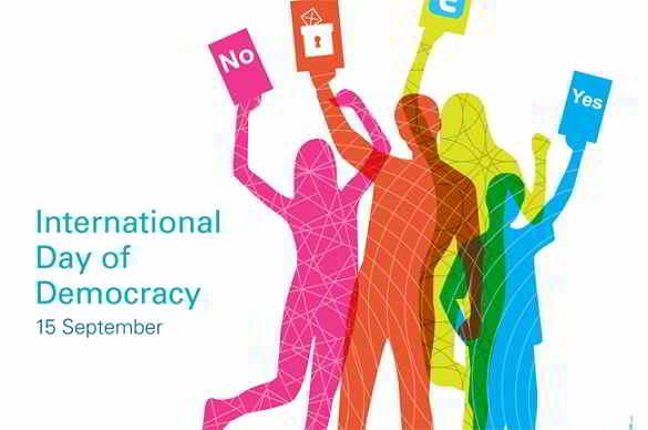 15 settembre: Giornata Internazionale della Democrazia
