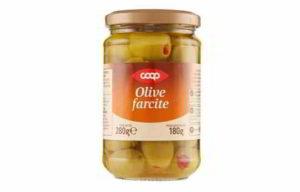 COOP: olive farcite ritirate dal commercio: solfiti non dichiarati in etichetta