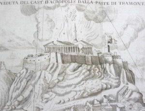 Anno 1687: i veneziani del Morosini danneggiano il Partenone di Atene