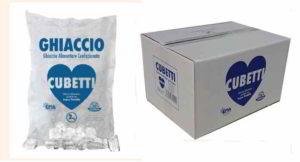 Ghiaccio a cubetti ritirato dal mercato per escherichia coli