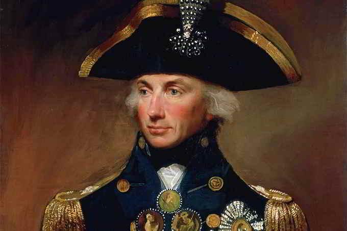Horatio Nelson e la battaglia di Trafalgar