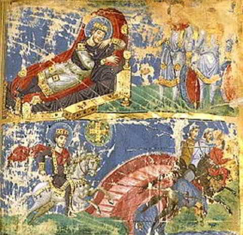 Costantino e Massenzio: la battaglia di ponte Milvio