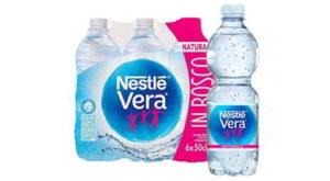 Acqua Nestlè Vera ritirata dal commercio per sospetta presenza batterica