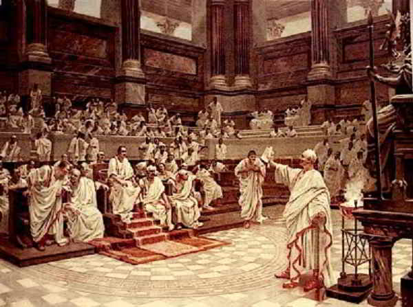 "Cicerone, Catilina ed il ""Quousque"""