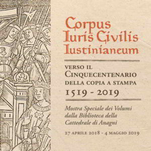 "Giustiniano ed il ""Corpus Iuris Civilis"""