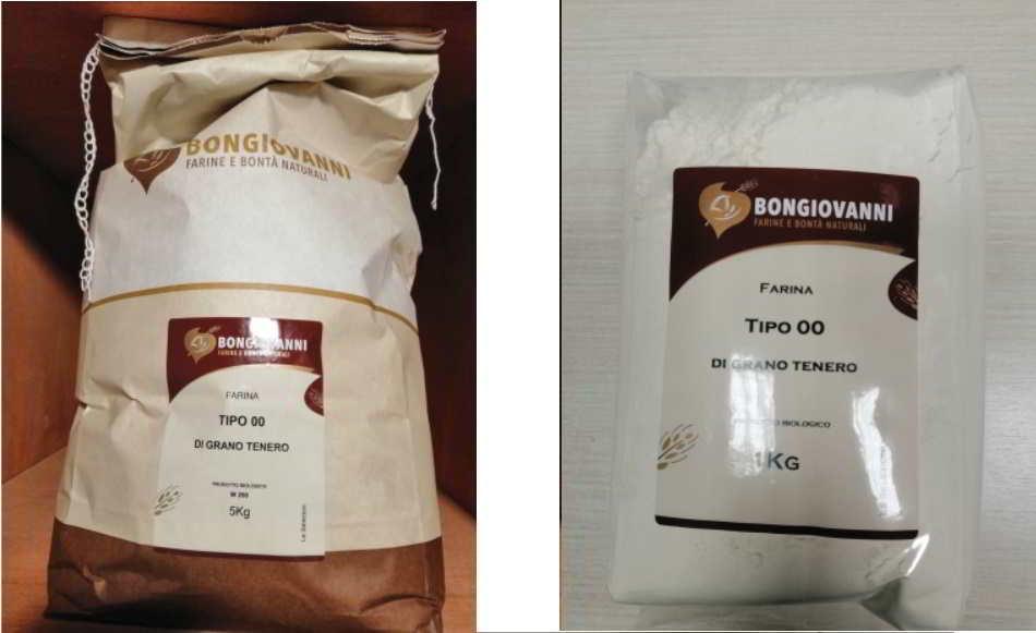 Farina di grano 00 ritirata dal commercio per allergene non dichiarato