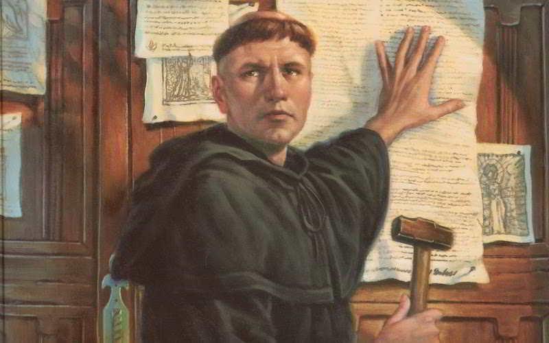 Le 95 tesi di Martin Lutero: testo integrale e breve storia