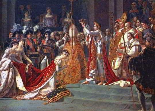 L'incoronazione di Napoleone Bonaparte