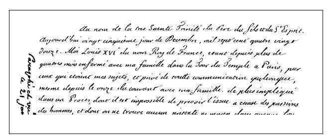 Il processo a Luigi XVI