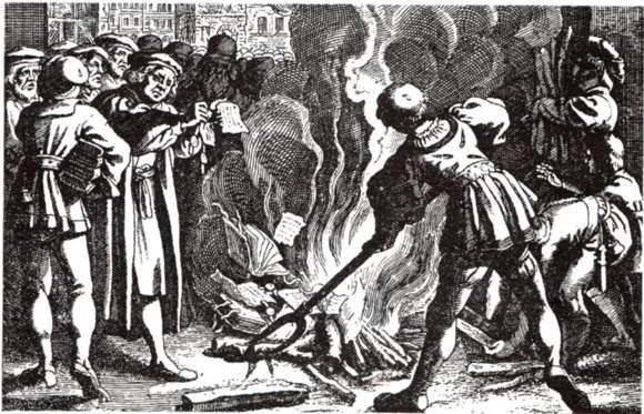 Il rogo della bolla Exsurge Domine, la scomunica di Martin Lutero