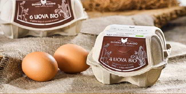 Uova biologiche marchio Olivero Claudio ritirate dal commercio per salmonella