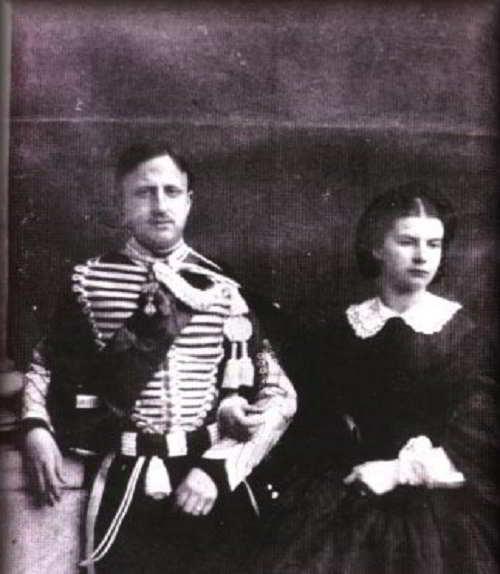 Francesco II di Borbone e la moglie Maria Sofia
