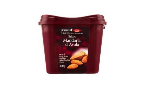 COOP: gelato alla mandorla ritirato dal commercio per allergene soia non dichiarato