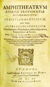 Amphiteatrum Aeternae Providentiae Divino-Magicum