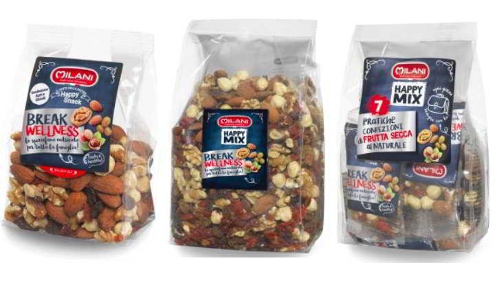 Bacche di goji con pesticidi in Mix di frutta secca ritirata dal mercato
