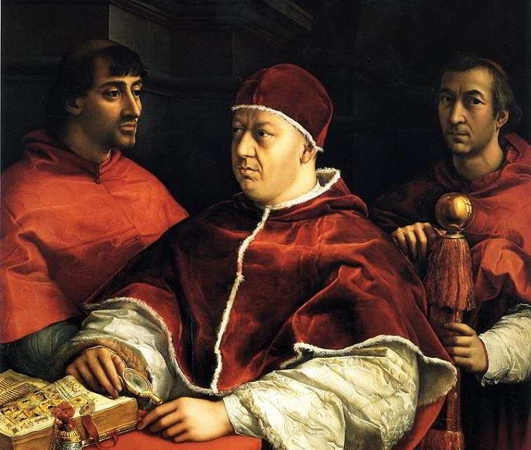 Leone X, al secolo Giovanni de' Medici: breve biografia del pontefice mediceo