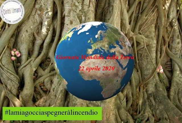 22 aprile: gionata mondiale della terra