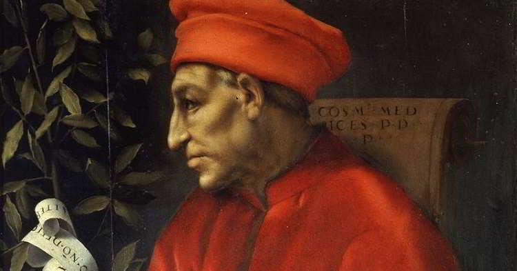 Pontormo - Ritratto di Cosimo il Vecchio