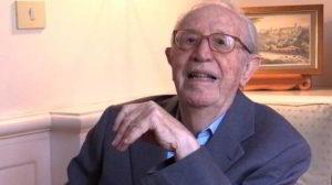 Il dottor Adriano Ossicini, l'inventore della malattia chiamata Morbo K