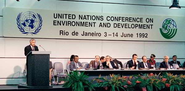 3 giugno 1992 - conferenza di rRio