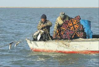 Il lago di Aral ieri e oggi: le foto