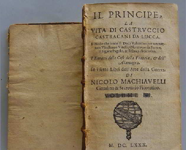 """copia de """"Il Principe"""" di Niccolò Macchiavelli"""