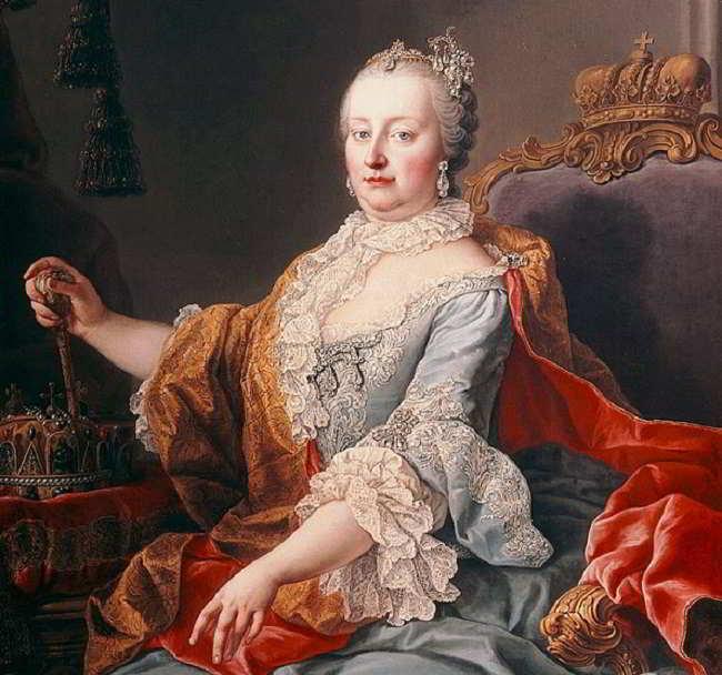 maria teresa d'asburgo: breve biografoa