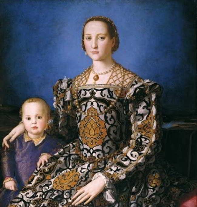 Eleonora da Toledo, Duchessa di Firenze e sposa adorata di Cosimo I de' Medici: breve biografia