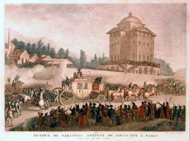 Luigi XVI e Maria Antonietta: la tentata fuga da Parigi