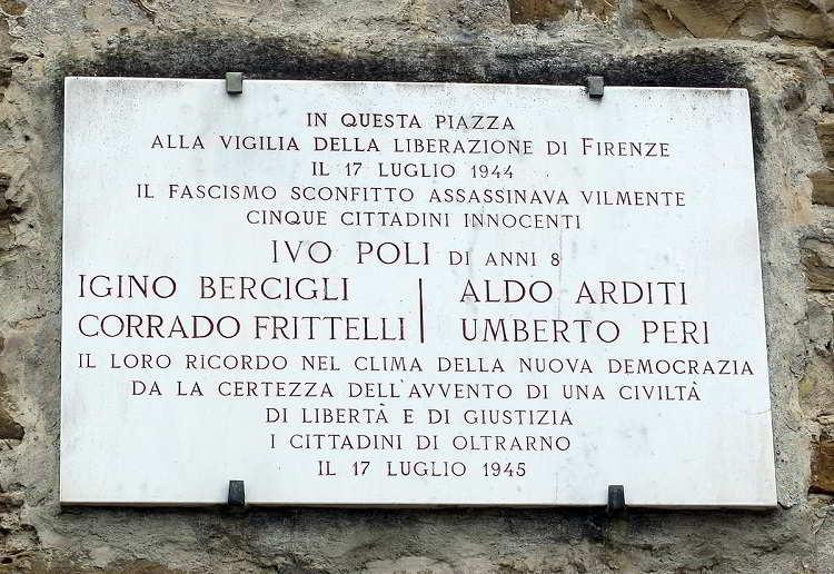 17 luglio 1944, eccidio di piazza Tasso a Firenze