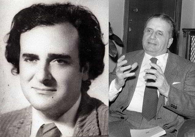 Beppe Montanta e Rocco Chinnici