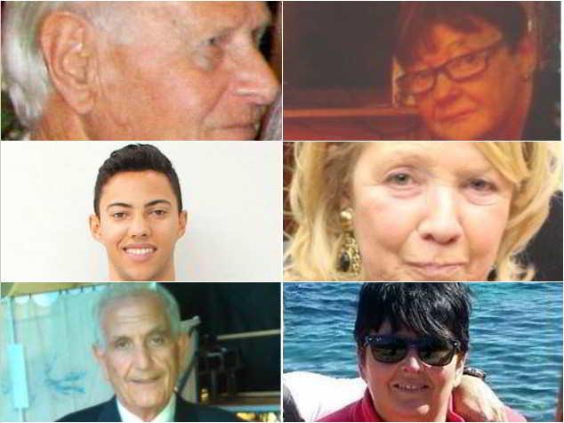14 luglio 2016: commemorazione delle vittime italiane della strage di Nizza