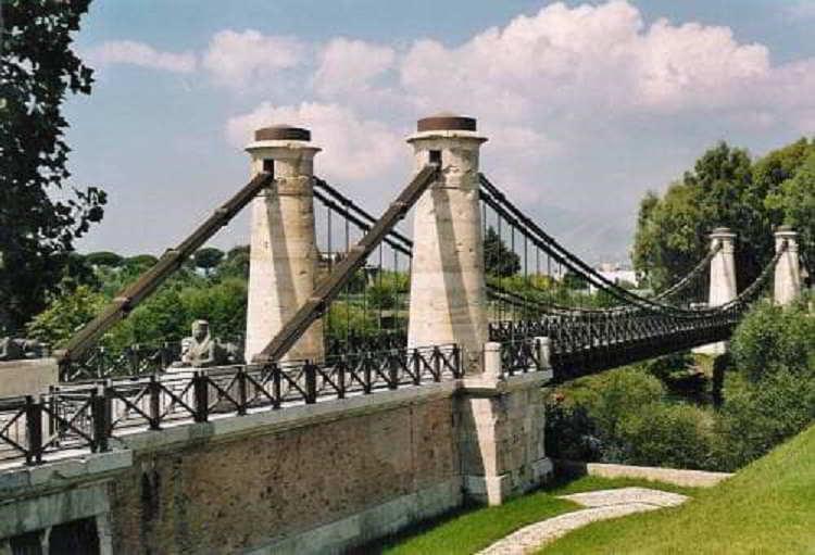 Il ponte Real Ferdinando: storia dell'opera al passo con i suoi tempi