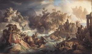 La battaglia di Salamina del 480 a.C