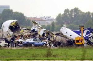 disastro aereo di linate